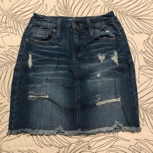 Perfect jean skirt